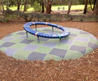 Soft Fall Landscapes For Playgrounds