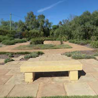 benches-and-hedges