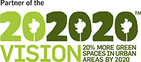 202020 More Green Spaces in Urban Areas by 2020